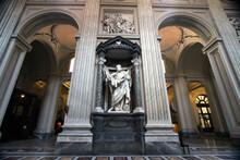 Statue Of Saint Bartholomew, Archbasilica Of Saint John Lateran