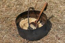 Natural Cereal Porridge In A S...