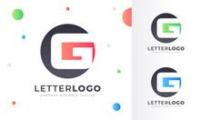 Colorful Gradient G Letter Log...