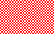 Red And White Checkered Patter...