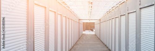 Fotografie, Obraz warehouse for storing personal belongings