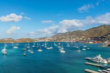 Harbor Approaching St. Thomas,...