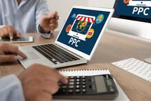 PPC - Pay Per Click Concept Bu...