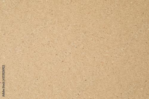 Obraz Cardboard paper texture for background. Cardboard sheet - fototapety do salonu