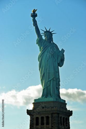 Fototapeta Symbol Stanów Zjednoczonych Ameryki , Statua Wolności, znajduje się w  Nowym Jorku obraz