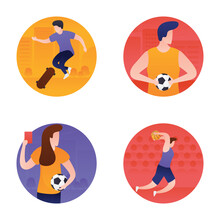 Sports And Olympic Flat Icons ...