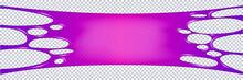 Flowing Purple Sticky Liquid
