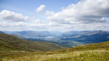 View From Ben Nevis, Scotland