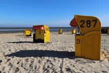 Cuxhaven Strandkorb Leer