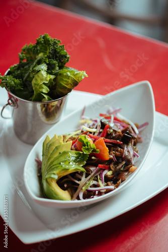 salad anion Canvas Print