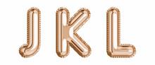 Gold Foil Balloon Alphabet Set...