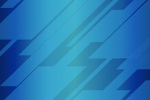 Abstract Blue Gradient Halfton...