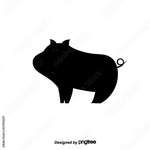 Obraz Abstract Pig - fototapety do salonu