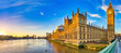 Houses of Parliament and Big Ben in morning light. London. England