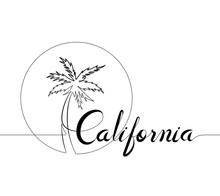 California And Palm Tree Logot...