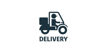 Illustration Of Delivery Icon ...