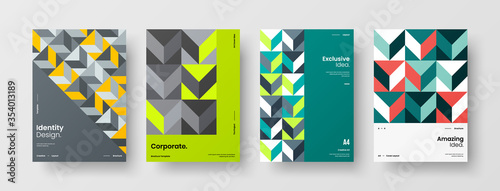Fotomural Company identity brochure template collection