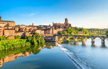 Albi In A Summer Sunny Day,Fra...