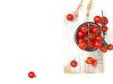 Świeże czerwone pomidory