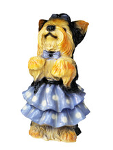 Ceramic Figure Of A Dog Standi...