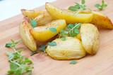 Pieczone ziemniaki z tymiankiem