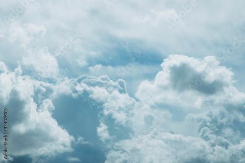 Ciel nuageux Canvas Print