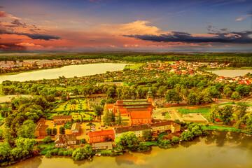 Fototapeta Do biura Kartuzy na Kaszubach w północnej Polsce