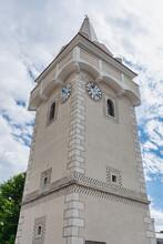 """""""Török Torony"""" Fortified Tower In Breitenbrunn Village In Burgenland, Austria"""