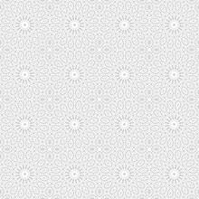 Background Floral Pattern Geom...