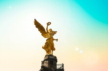 Angel Of Independence In Mexic...