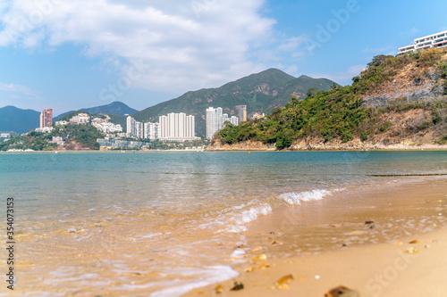 Valokuvatapetti The view of Repulse bay in Hong Kong