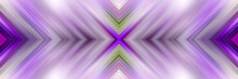 Abstract Geometric Background. Pattern Of Luminous Lines. Stylish Symmetrical Futuristic Texture.