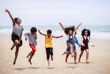 Funny Vacation. Children Or Ki...
