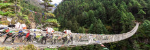 Suspention Bridge On The Evere...