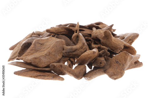 Selective Focus, Sticks Of Agar Wood Or Agarwood Background The Incense Chips Us Fototapete