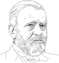 Ulysses S. Grant - 18 President Of The USA