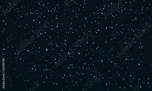 Fotografie, Obraz Star Sky. Space Stars Background.Glitter Particles