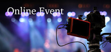 Online Event Text Over Video C...