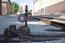 Old Un Used Train Track Parts