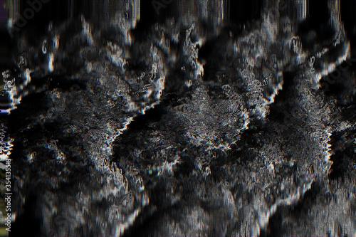 Obraz na plátně Texture background retro raster noise glitch pixel rewind poster music abstract