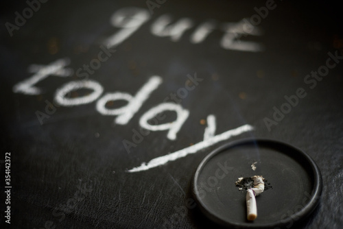 Stop smoking today concept Fototapeta