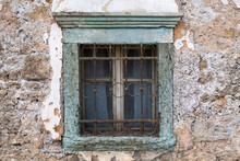 Old Window In A Stone House. C...