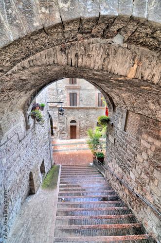 Fototapeta Widok miasta Asyż, Włochy obraz