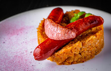 Fried Cabbage With Sausage In ...