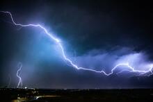 Intense Lightning Lighting Up ...