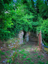 Corner Of The Small Village Of Cinquefrondi.