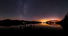 A Panoramic Nightscape From As...