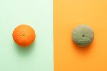 Comparing Rotting Orange With ...