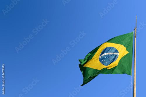 Fotografie, Obraz Bandeira do Brasil.