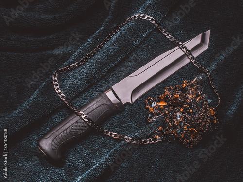 Fotomural Nóż